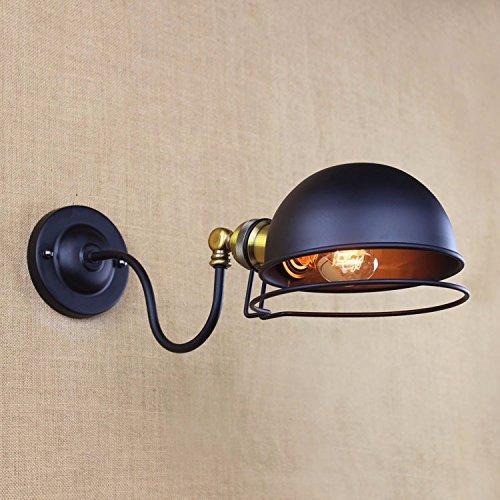 (Creative minimalist RH iron personalized mini bedroom the aisle headed art nouveau contemporary wall lights C)