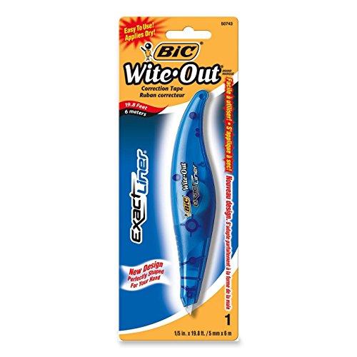 Wholesale BICamp;reg; Wite-Outamp;reg; Brand Exact Lineramp;reg; Correction Tape Pen supplier