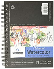 Canson Artist Series Watercolor Pad Side Wire