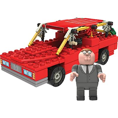 K'nex Family Guy-Peter and Station Wagon Building Set: Toys & Games