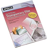 Apollo Inkjet Removable Strip Transparency Film