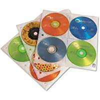Removable CDP25 Storage Pages for Standard 3-Ring DVD/CD Binders (Discontinued by Manufacturer)
