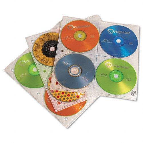 Case CD Caselogic 25 Pack 8 CD's Per Page CLGCDP200