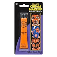 Party Ready Fashion Cream Makeup Costume Accessory, Orange, 0 7 Ounce Tube
