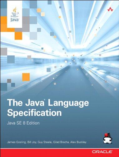 Bracha Guy - The Java Language Specification, Java SE 8 Edition (Java Series)