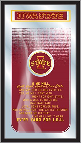 Holland Gameroom Iowa State Fight Song Mirror