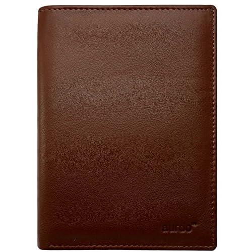 AurDo RFID Blocking Real Leather Passport Holder Cover Case /& Travel Wallet for Men /& Women