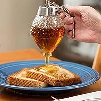 SODIAL 200ML Tarro de dispensador de miel Envase