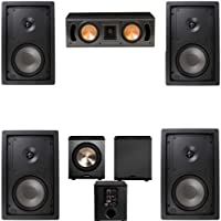 Klipsch R-2650-W In Wall #1 5.1 Home Theater System(RC-42II)-FREE PL-200