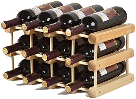 Madewin Diy Wine Bottle Holder Rack Wine Rack Display Stand