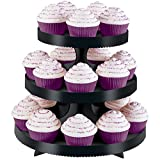 wilton cupcake stands - Wilton Black Borders Cupcake Stand