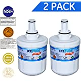 Icepure RFC1100A/RWF1100A 2Pack Compatible With Aqua Pure Plus Water Filter DA2900003G