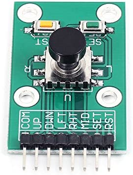 Icstation 5 Way Navigation Key Joystick Keyboard Menu Button Module 3.3V 5V for Arduino Raspberry Pi