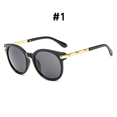 CCGSDJ Gafas De Sol De Leopardo De Gran Tamaño para Mujer ...