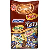 MARS Chocolate Caramel Lovers Fun Size Candy Bars Variety Mix 37.64-Ounce 60-Piece Bag