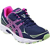 ASICS Women's Gel-Vanisher Indigo Blue/Pink Glow/Paradise Green 10 B US