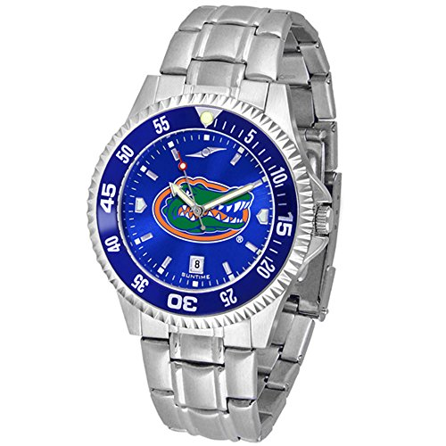 - Linkswalker Mens Florida Gators Competitor Steel Anochrome Bezel Watch