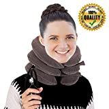 Neck Traction Device By ATUSY® - Fixed Neck And Shoulders - frees up your neck pain| you will feel effective in the first use - especially effective with acute muscular pain