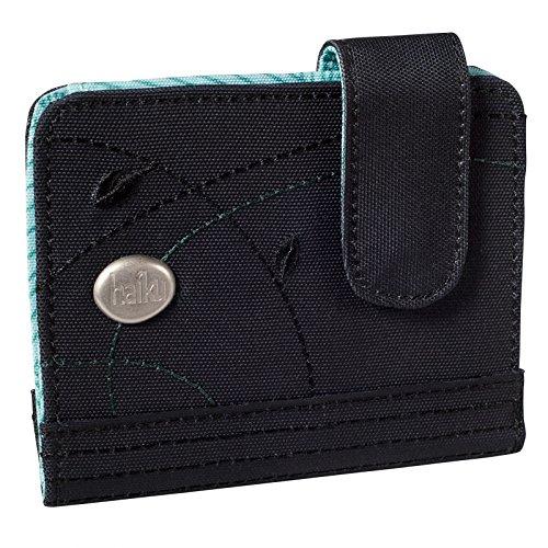 Haiku Damen Kismet Eco RFID Geldbörse, schwarz Wacholder