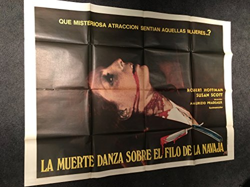 Dance Moves On A Razor Blade 1973 Original Vintage Argentinian Giant Movie Poster, 43x58