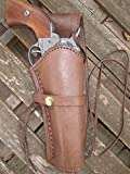 heritage guns - Brown Right Handed Smooth Leather Gun Holster