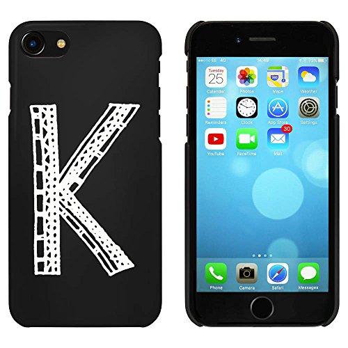 Schwarz 'Großbuchstabe K' Hülle für iPhone 7 (MC00063003)