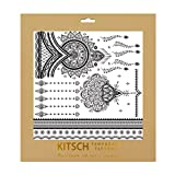 Kitsch Black True Henna Tattoos Set 1