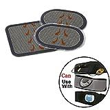 WEIYANG Gel Pads Replacement for ab Flex Belt Pro Go System/ Replacement Gel Pads for All Slt Abdominal Belts 1 Set of 3pcs