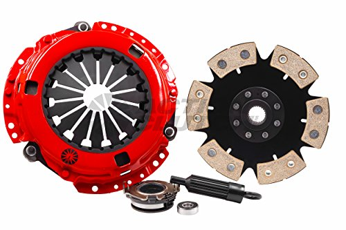 Stage 5 2MS (Iron Buttons, 6-Puck Sprung) Toyota Corolla 1980-1982 1.8L 4-SPEED clutch kit