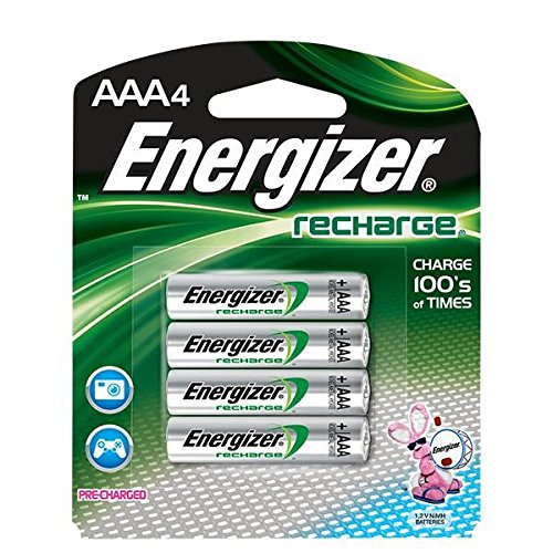 Energizer Recharge AAA Batteries, 24/Pkg by VOXX ACCESSORIES CORP