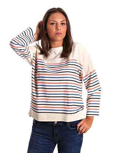 L Bianco Maglioncino Pepe Donna Pl580576 Jeans nXvYwqO0