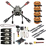DIY 2.4GHz 4-Axis Drone Quadcopter RC Drone 630mm Carbon Fiber Frame Kit MINI PIX+GPS Brushless Motor ESC Altitude Hold Kit (NO Tx No Battery No Charger)