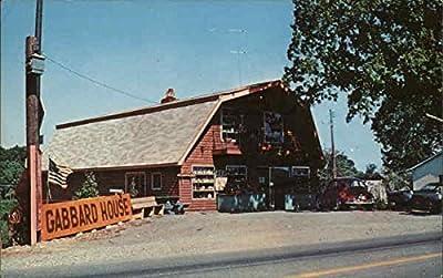 The Gabbard House London, Kentucky Original Vintage Postcard