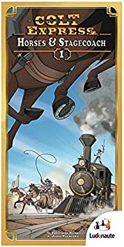 Colt Express: Horses and Stagecoach Expansion by Ludonaute: Amazon.es: Juguetes y juegos