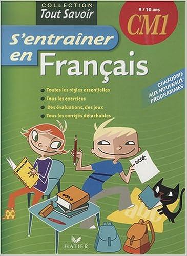 Livres Format Pdf Telecharger S Entrainer En Francais Cm1
