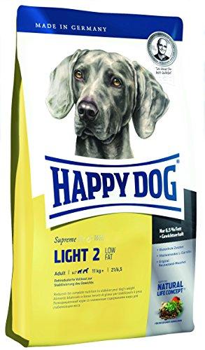 Happy Dog 60082 Hundefutter Supreme Fit und Well Light 2 - Low Fat, 4 kg, L