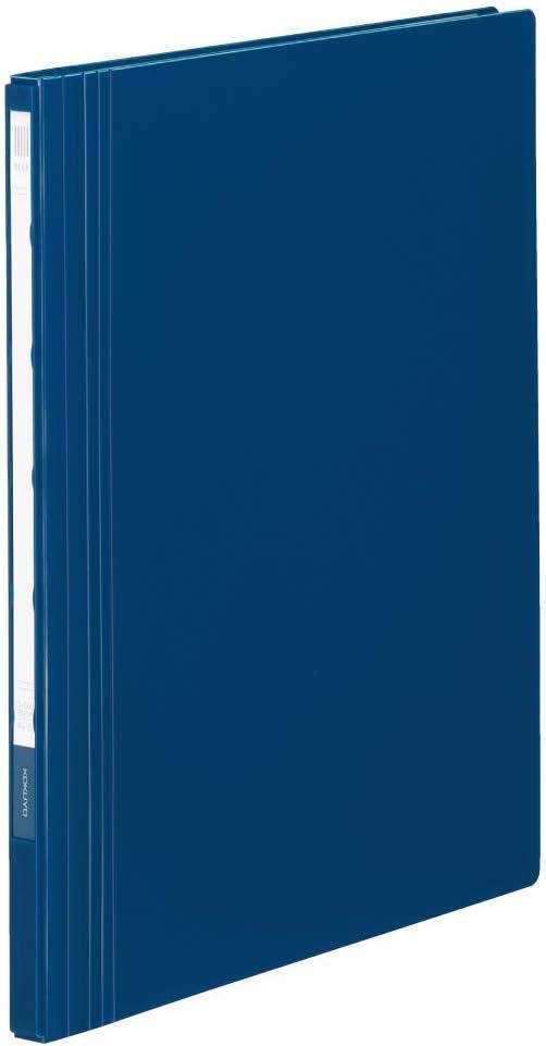 コクヨ クリヤーブック NEOS 固定式 A4 縦 40ポケット ネイビー ラ-NE40DB 【まとめ買い3冊セット】