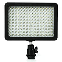 GHP Video Light 160 LED w/ Barndoor Set Camera Camcoder Lighting Photo by Globe Warehouse
