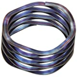 """Multiwave Washers, Stainless Steel, Inch, 1.6"""" ID, 2"""" OD, 0.024"""" Thick, 222lbs/in Spring Rate, 90lbs Load Capacity (Pack of 5) by Small Parts"""