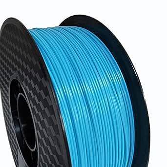 Filamento para impresora 3D de 1,75 mm, filamento ABS azul ...