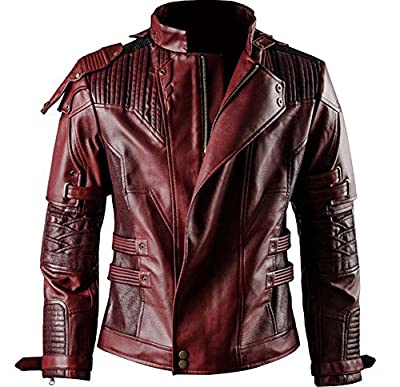 Wecos Guardians 2 Star Lord Costume Peter Jason Quill Coat Jacket Pants T-shirt
