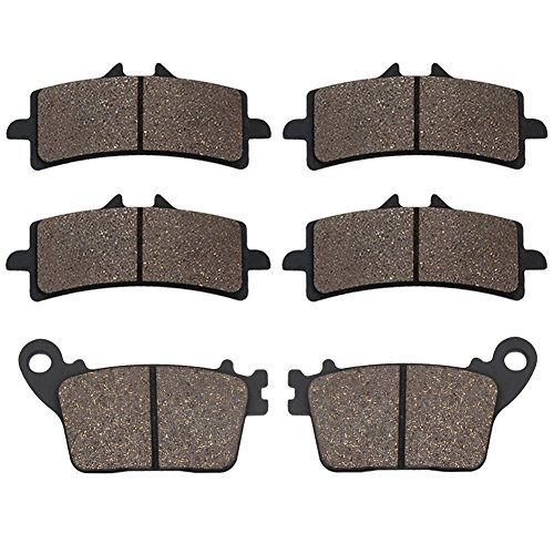 (Cyleto Front and Rear Brake Pads for SUZUKI GSXR600 GSXR 600 2011-2016 / GSXR750 GSXR 750 2011-2016 / GSXR1000 2012-2016 / GSXR 1000 ABS 2015)