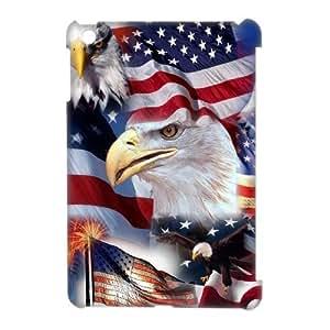 3D Case Of American Flag 3D Bumper Plastic Customized Case For iPad Mini
