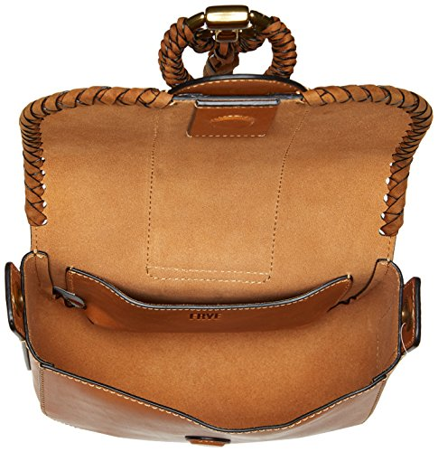 Cognac Wrapped Small Ilana FRYE Leather Saddle Bag qxPYScEwZ
