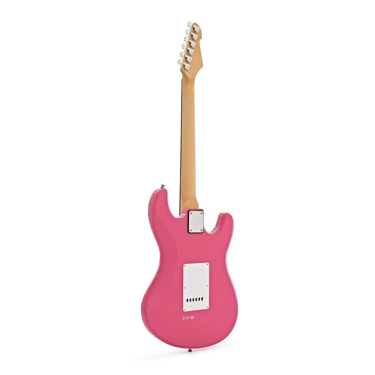 LA Left Handed Electric Guitar by Gear4music Pink + Complete Pack: Amazon.es: Instrumentos musicales