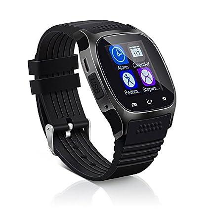 Amazon.com: XWU Smart Watch M26 Bracelet Blue-Tooth Call ...