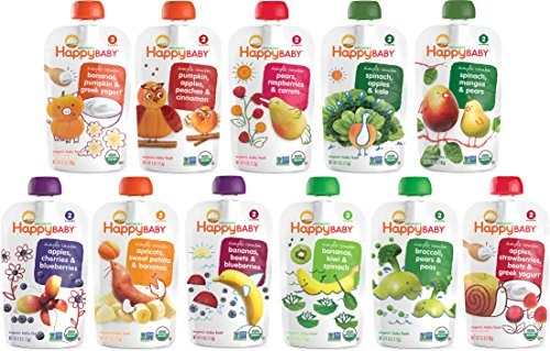 Price comparison product image Happy Baby Stage2 Apl Spnch & Kale Org