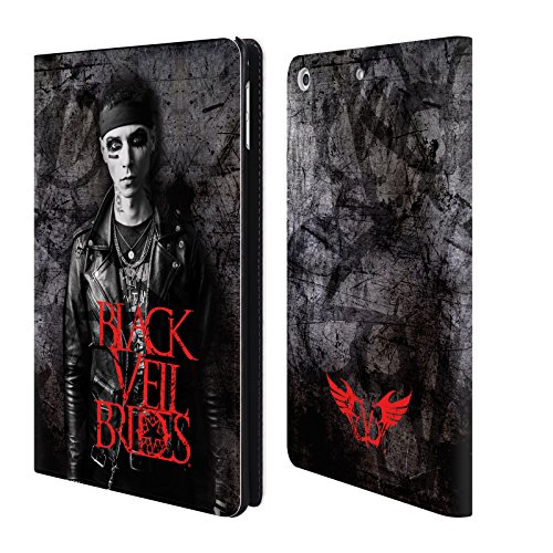 Official Black Veil Brides Andy Band Members Leather Book Wallet Case Cover for iPad Mini 4