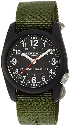 Bertucci Men s 11016 Analog Display Analog Quartz Green Watch