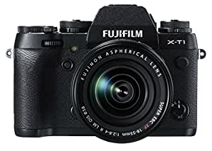 Fujifilm X-T1 16 MP Mirrorless Digital Camera with 3.0-Inch LCD and XF 18-55mm F2.8-4.0 Lens (Certified Refurbished)